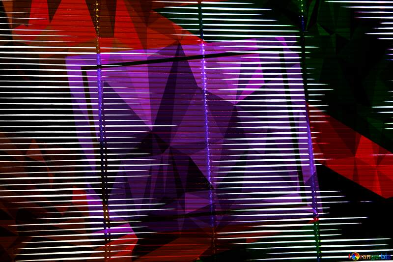 Blinds Polygon abstract geometrical background with triangles №4475