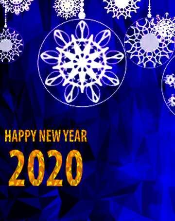 L'effetto della luce. Colori chiari. Frammento. Happy New Year 2020.