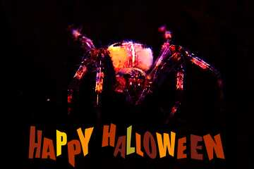 The effect of the dark. Very Vivid Colours. Happy halloween.