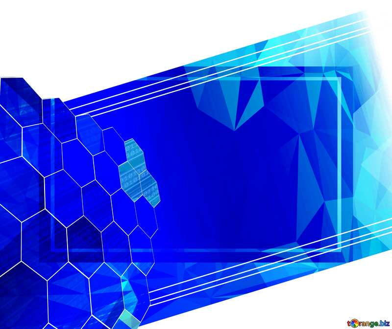 it business information technology concept background Polygonal abstract geometrical background with triangles №49674