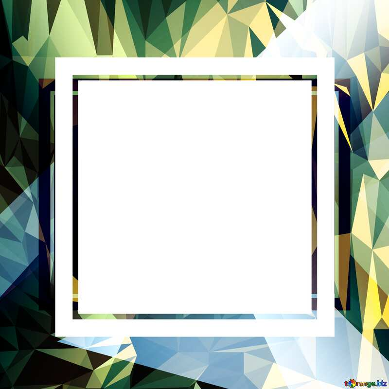 Template Polygonal abstract geometrical background with triangles №49675