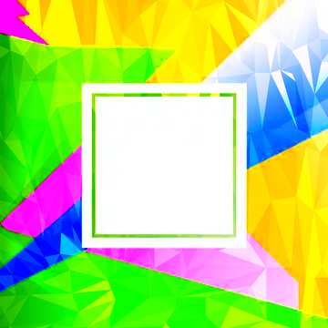 L'effetto della molto luce. I colori molto vivaci.