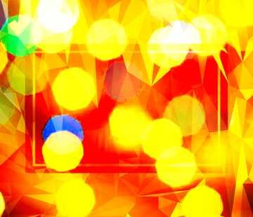 Die Wirkung von viel Licht. Sehr klare Farben. Bruchstück.