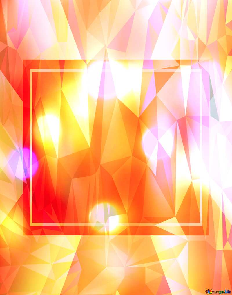 lights template Polygonal abstract geometrical background with triangles №24613