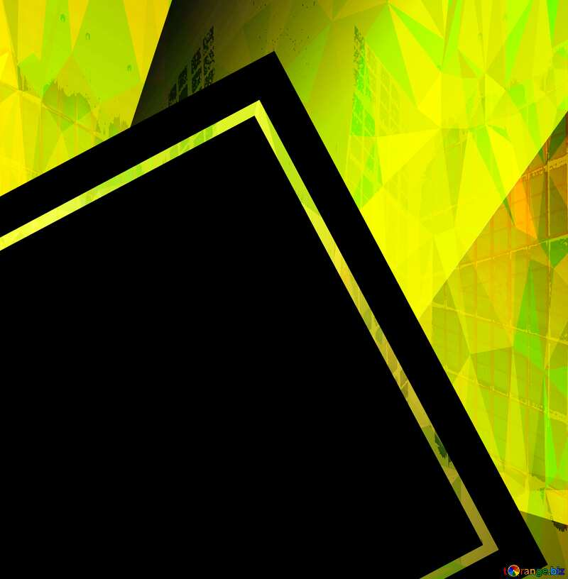 Colorful illustration template frame Polygonal abstract geometrical background with triangles square template №49675