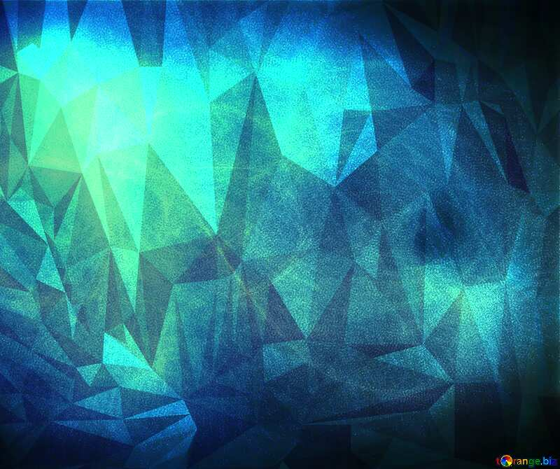 fog Polygonal abstract geometrical background with triangles №40636