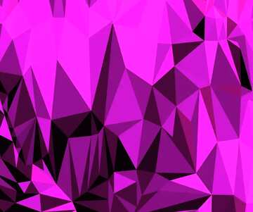 Polygonal background with triangles deep red