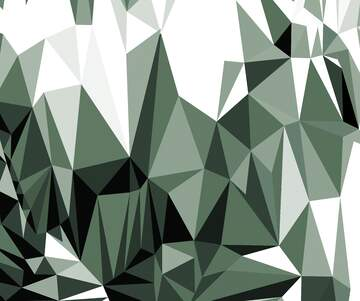 Polygonal background with triangles gray