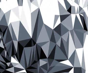 Polygonal background with triangles techno color