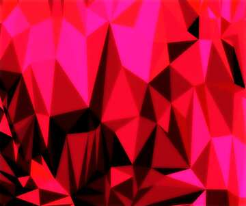 Polygonal background with triangles granate maroon color