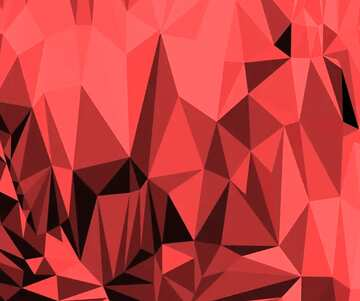 Polygonal background with triangles rose color