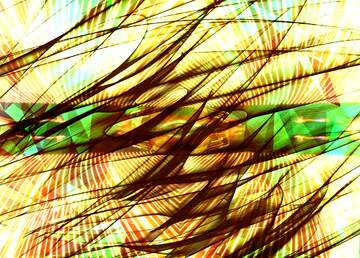 Die Wirkung von Licht. Die Wirkung von Sepia getönten. Bruchstück.