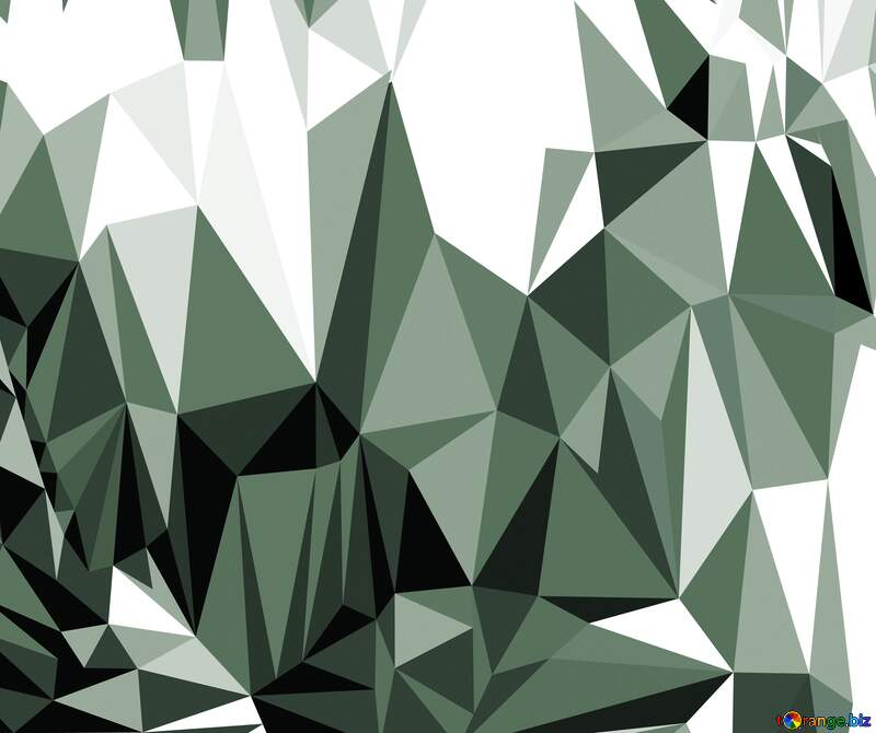 Polygonal background with triangles gray №51583