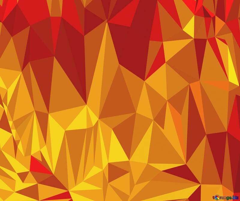 Polygonal background with triangles hot №51583