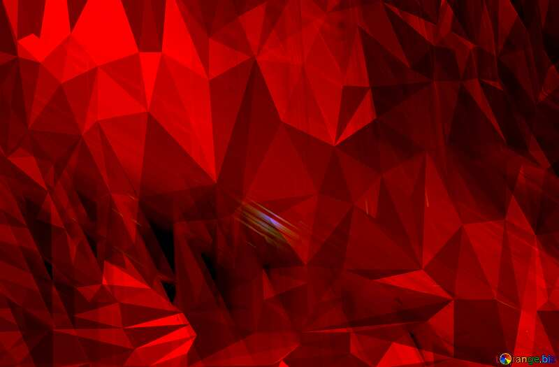 Dark Red futuristic pattern lights design. Polygonal abstract geometrical background with triangles №51525