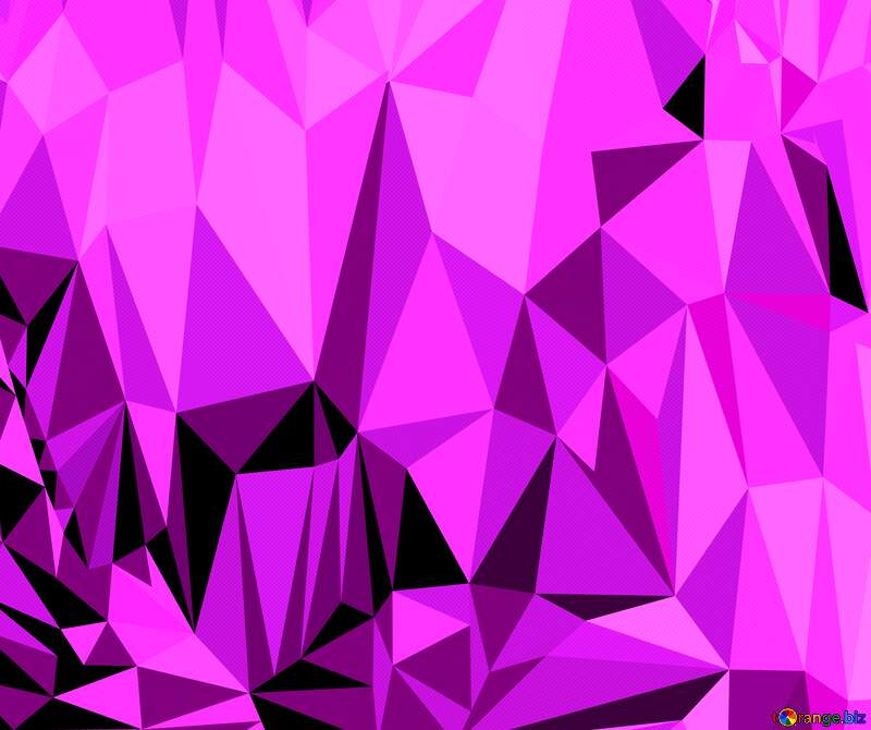Polygonal background with triangles violet №51583