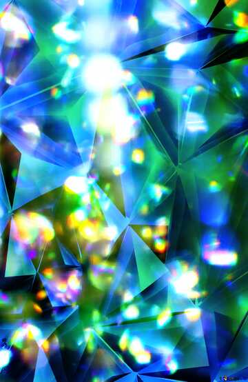 Color blurred background metallic blue color polygonal texture