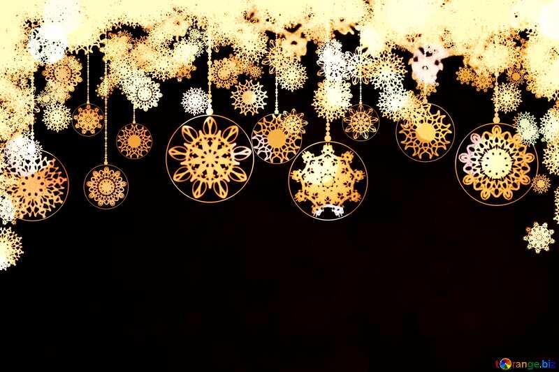 Clipart Christmas sepia №40711