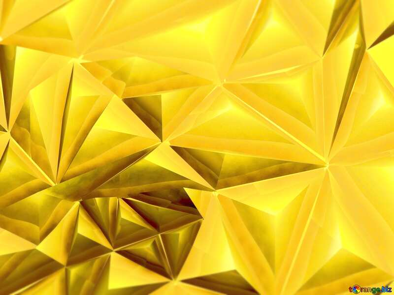 Polygon gold background light №51586