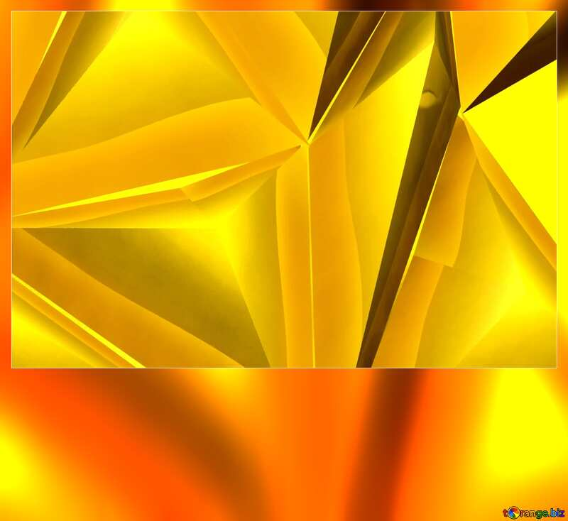 Polygon gold  blank card №51586