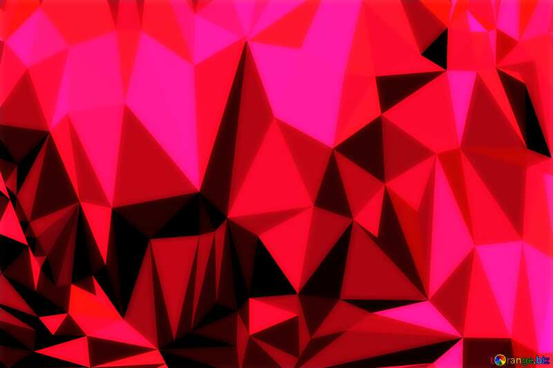 Christmas background triangles Polygonal granate maroon color №24617