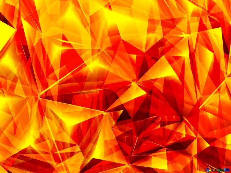 Polygon gold background hot №51586
