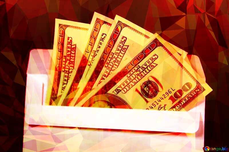 Envelope U.S. dollars №4984