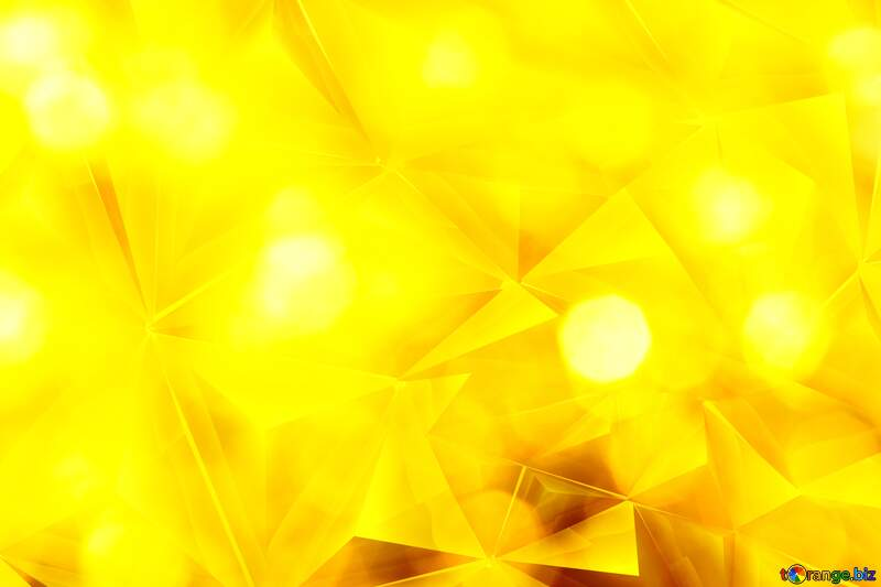 Gold Polygonal background №37815