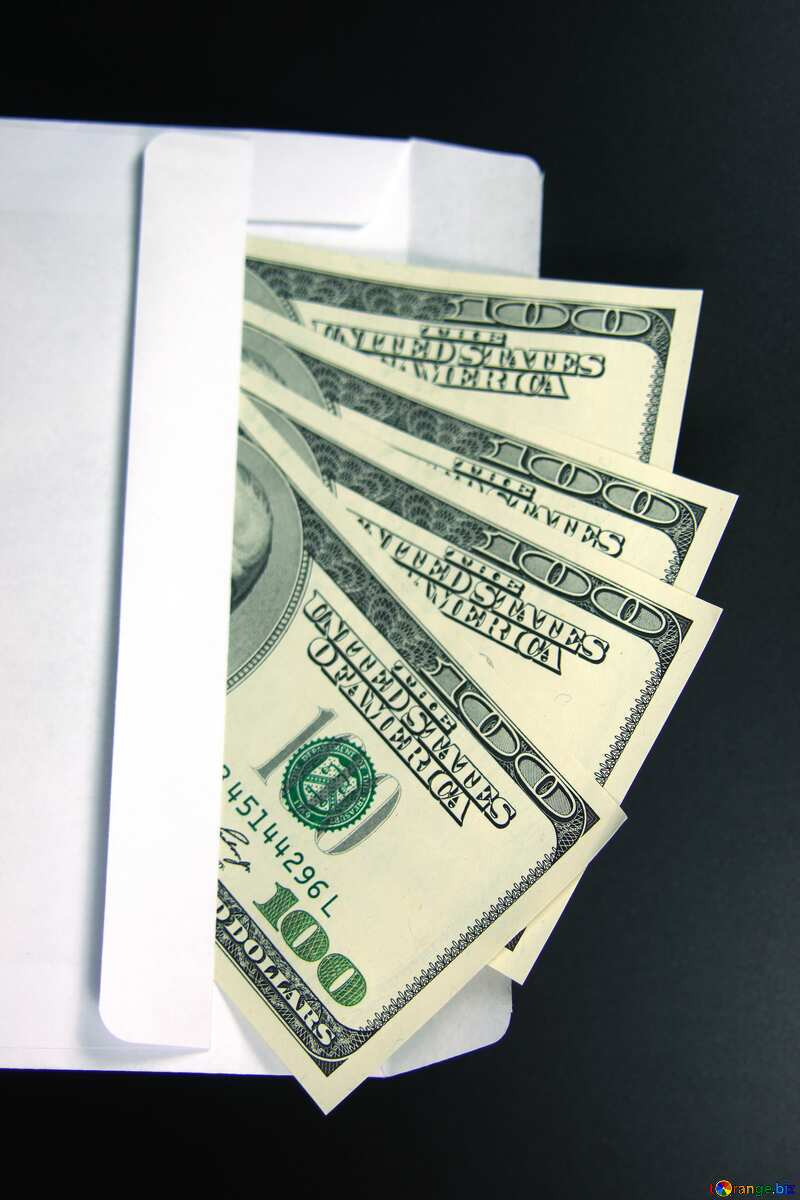 Envelope, U.S. rotation dollars №4984