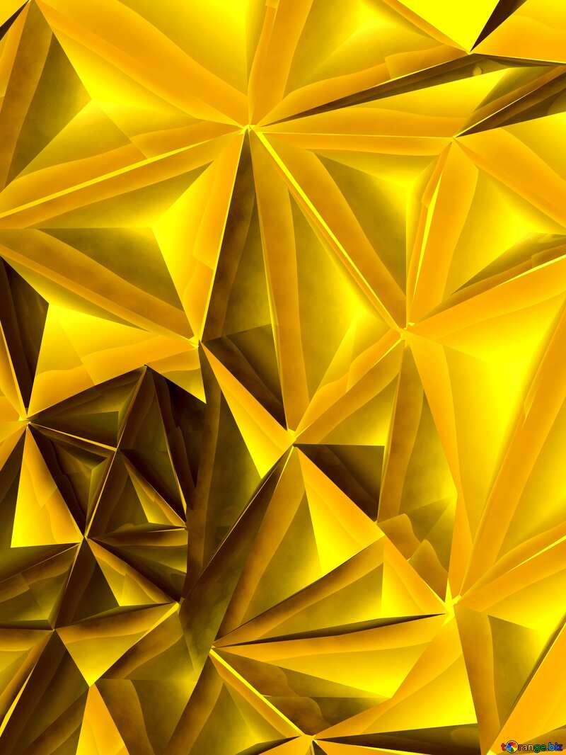 Polygon gold texture №51586