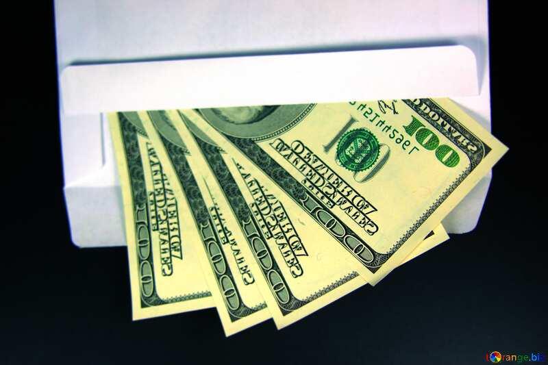 Envelope, U.S. dollars №4984