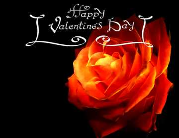 The effect of the dark. Vivid Colors. The template image with a heart. Happy Valentine's Day.
