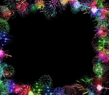 El efecto de la rotación. El efecto de la muy oscuridad. Colores vivos.