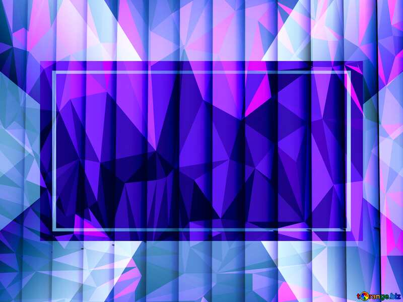 blinds texture different thickness lines Polygonal background with triangles Blue template №50773
