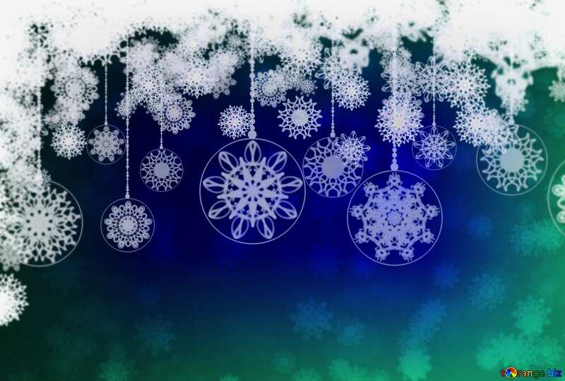 Clipart Christmas blur frame №40711