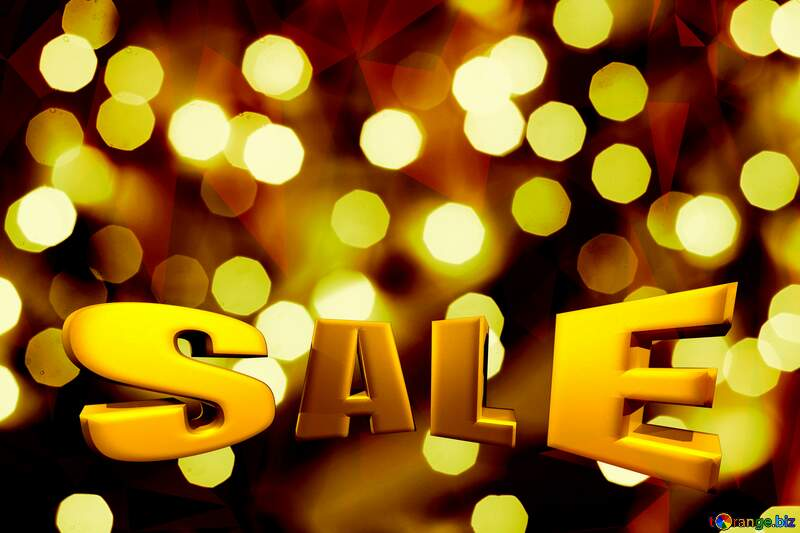 Bokeh sale  background №24617