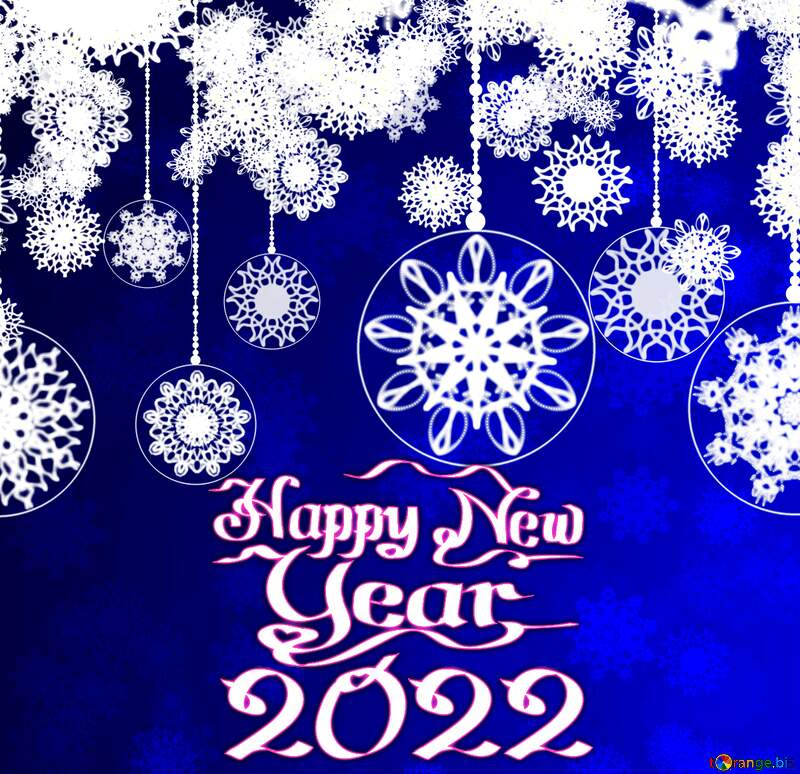 Clipart Christmas happy new year 2021 №40711