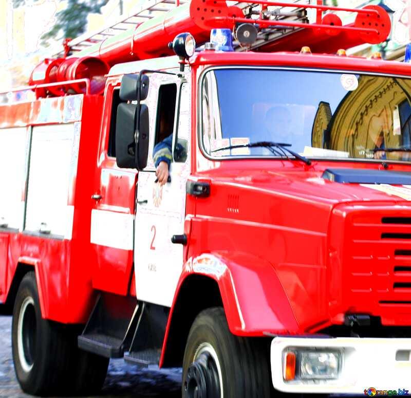 Fire rescue car №41483