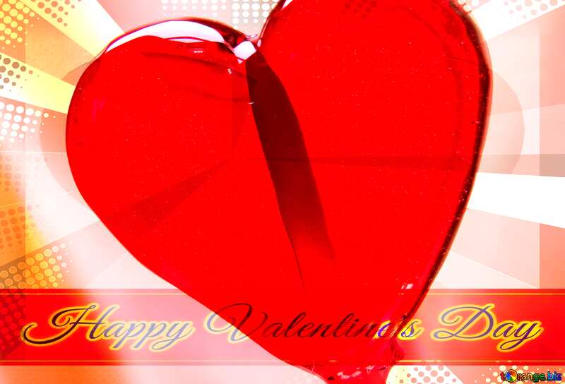 Sweet gift lettering happy valentines day №17468
