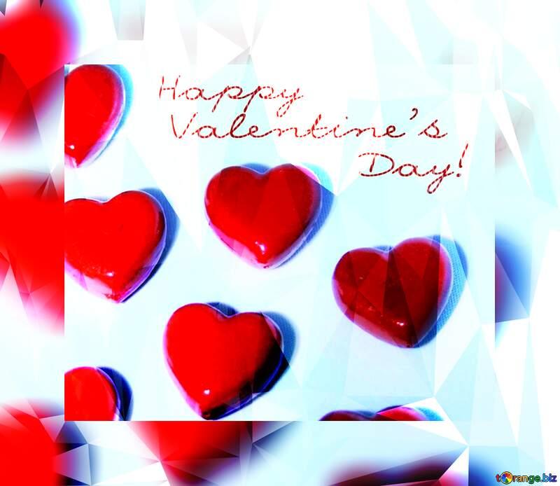 Card Happy Valentine`s day №3684