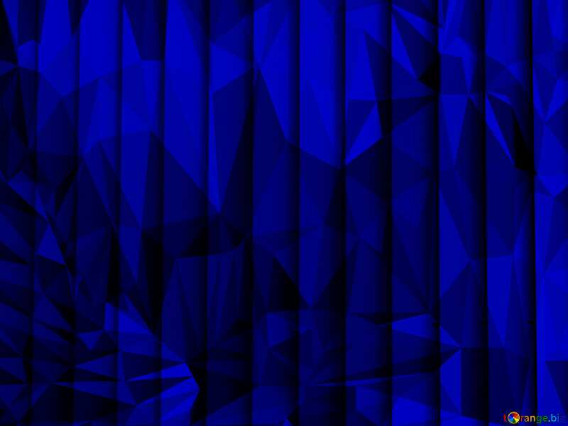 blinds texture different thickness lines blue dark polygonal triangles background №50773