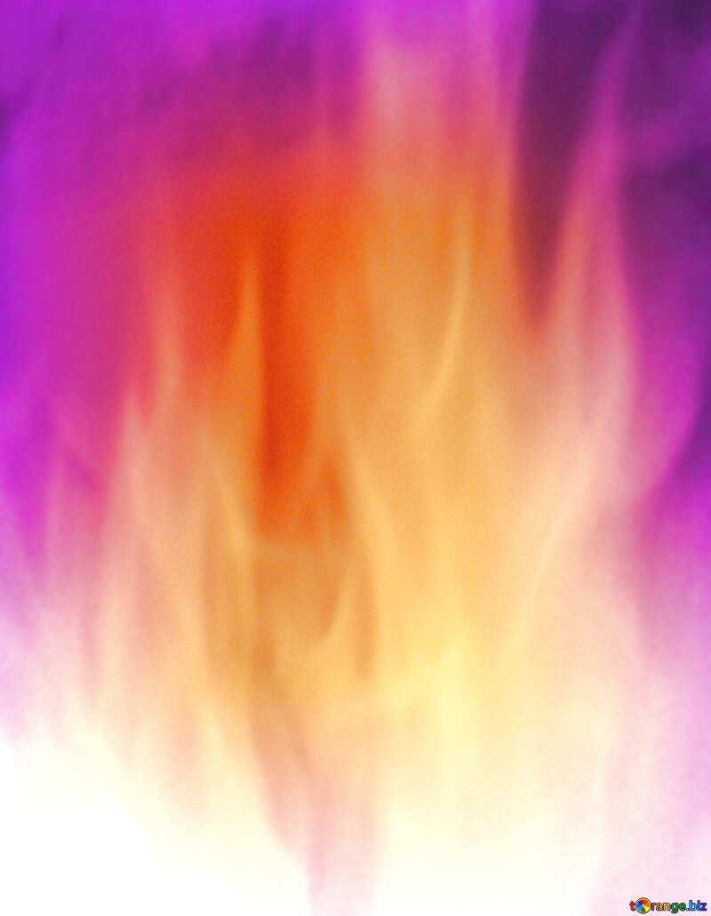 Background. Green Fire  Wall. blur frame №9546