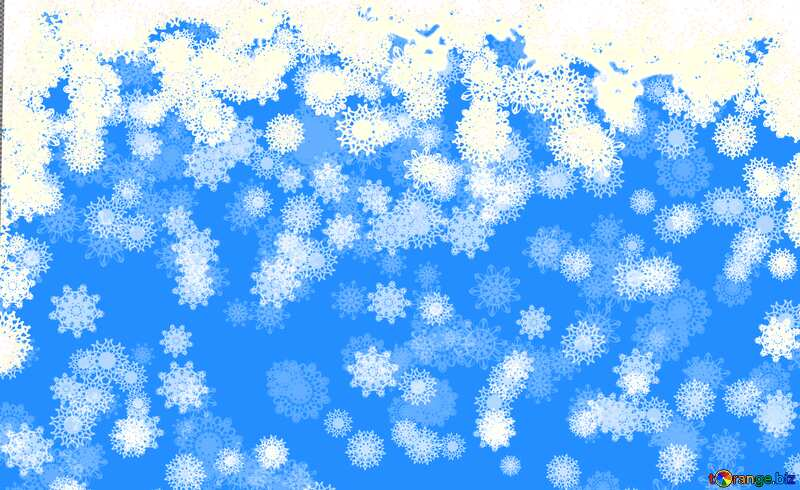 Background Christmas and new year snowflakes light blue background №40662