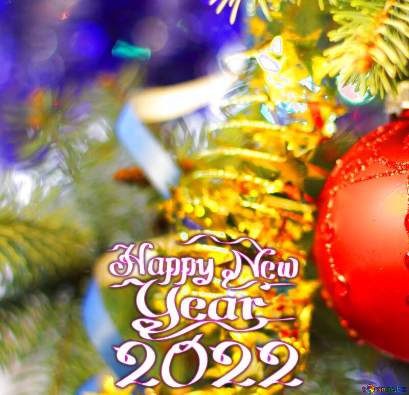 Background for happy new year wishes 2021 №18355