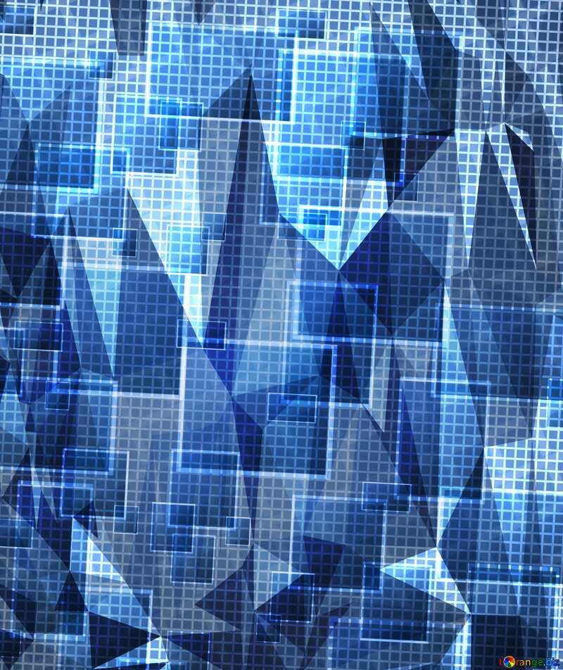 Technology background blue №49678