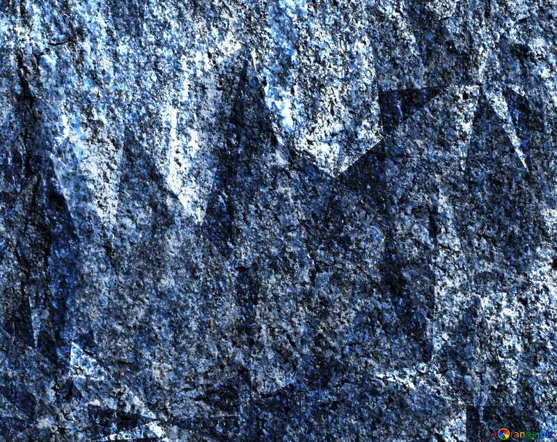 Granite. Rough texture of rough stone techno color polygonal background №1301