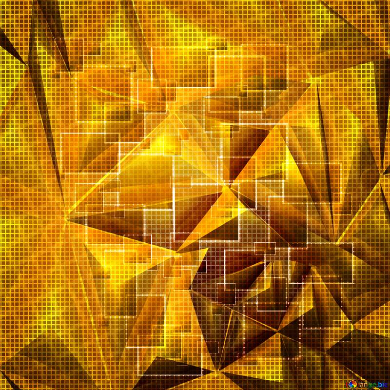 Technology background abstract squares metal light №49678