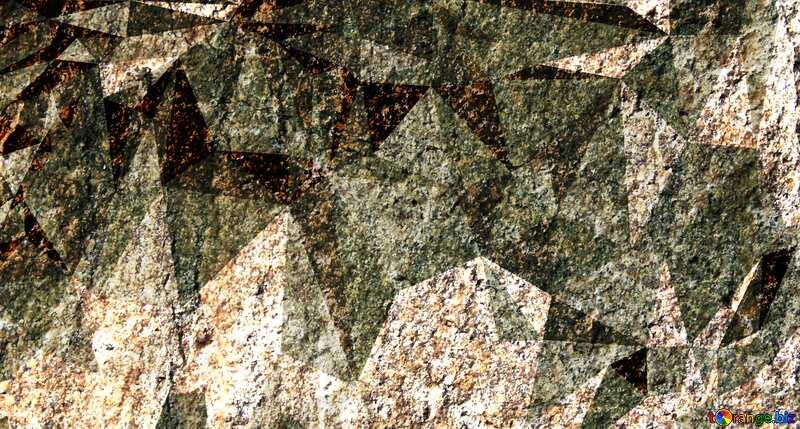 Granite. Rough texture of rough stone Polygonal background №1301
