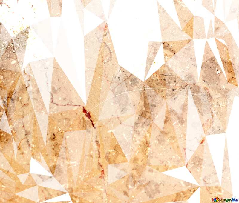 Light marble texture Polygonal background №26997