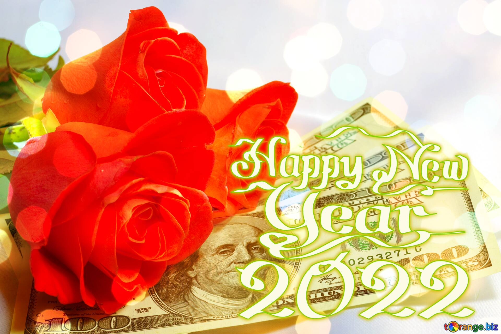 Download free picture Roses and dollars. Christmas 2021 on CC-BY License ~ Free Image Stock ...